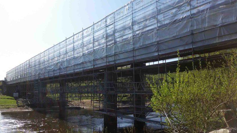 Southern Rail Bridges by Brazier Scaffolding