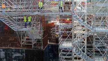 Temporary Stair Solutions scaffolding