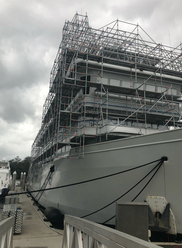 Layher Allround Lightweight Scaffolding met all our requirements quickly and efficiently