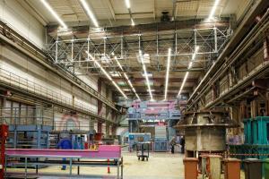 Sistema BRS en nave industrial