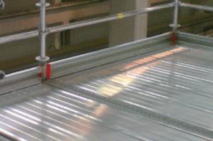 Rodapiés y plataformas para andamios