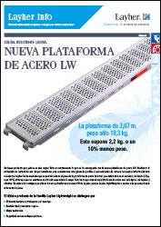 Plataforma de acero LightWeight