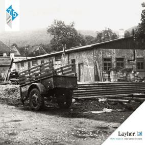 Sede de Layher en Eibensbach (año 1945)