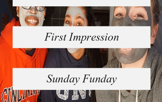Face Mask First Impressions: Sunday Funday!