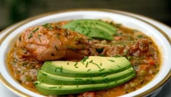 Guatita ecuadorian beef tripe stew laylitas recipes ecuadorian chicken rice soup aguado de gallina forumfinder Images