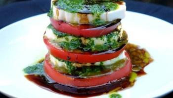 recipe: basil dressing for caprese salad [29]
