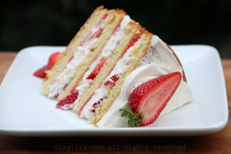 Food Network Pioneer Woman Strawberry Shortcake Cake