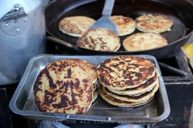 Tortillas de maiz gualo