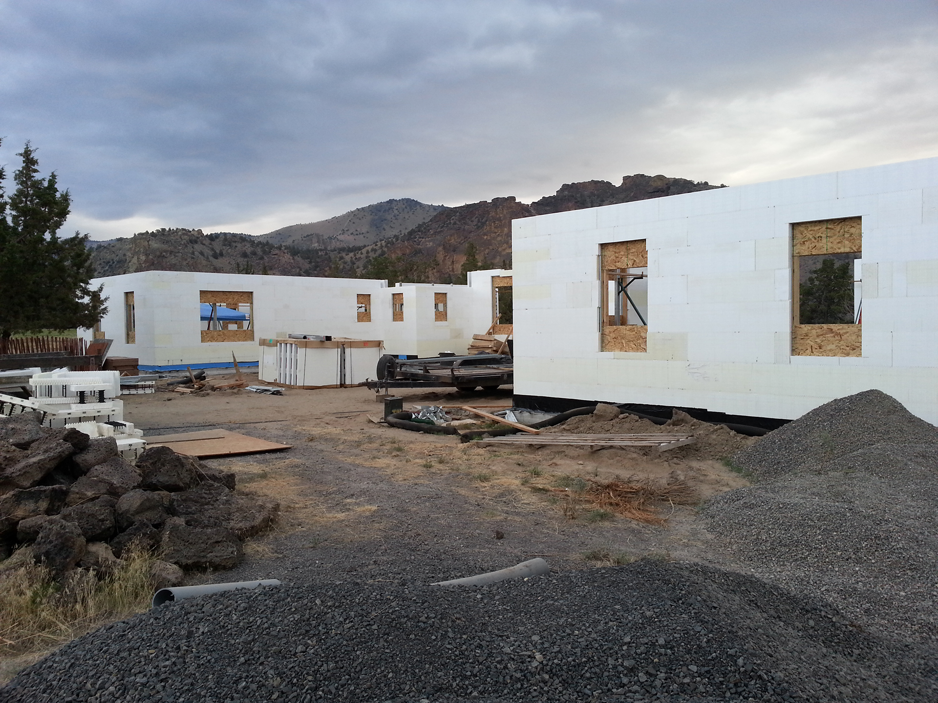 Icf House Project In Central Oregon Laylo 3d