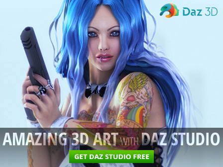 Create stunning 3D models for games