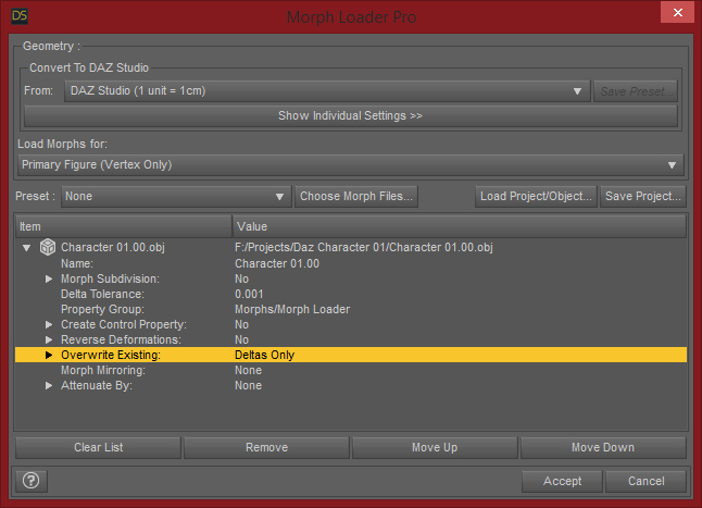 Daz Studio Morph Loader Pro Update