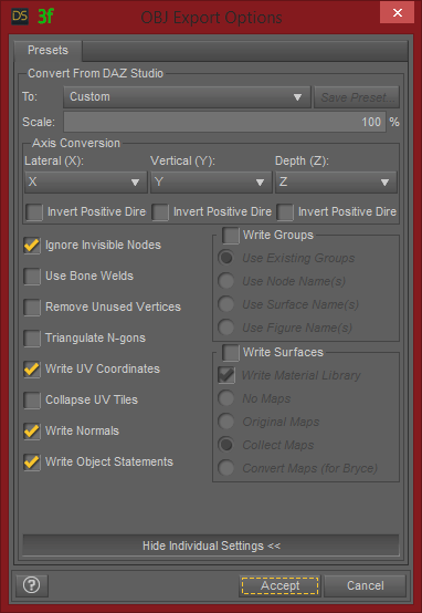 daz-studio-obj-export-settings