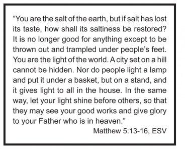matthew 5 13-16