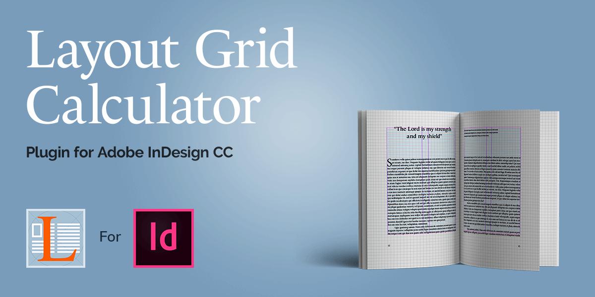 Online layout grid calculator for Adobe InDesign