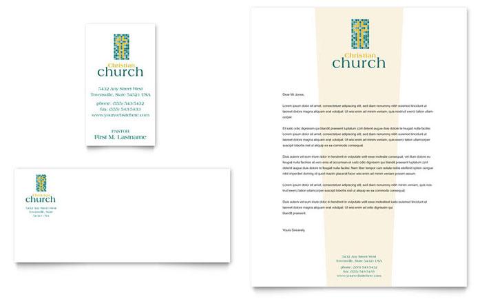 Word Program Template Church