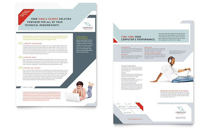 Computer Solutions Datasheet Template Word Publisher