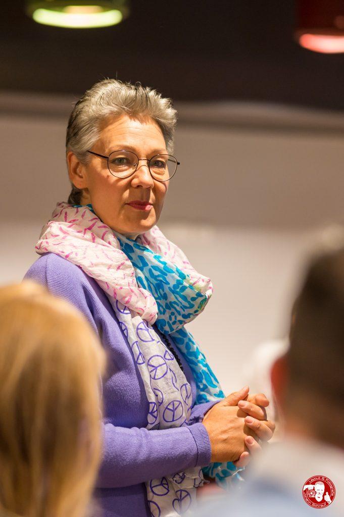 Annette Wieland in Vertretung, im BNI-Chapter Trollinger Heilbronn