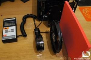 PC Fan Performance Testing - Prolimatech Ultra Sleek Vortex 14 - 6cm Distance to flat surface