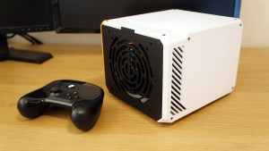 LZ7 v2 White Radial Vent GPU SIde Panel