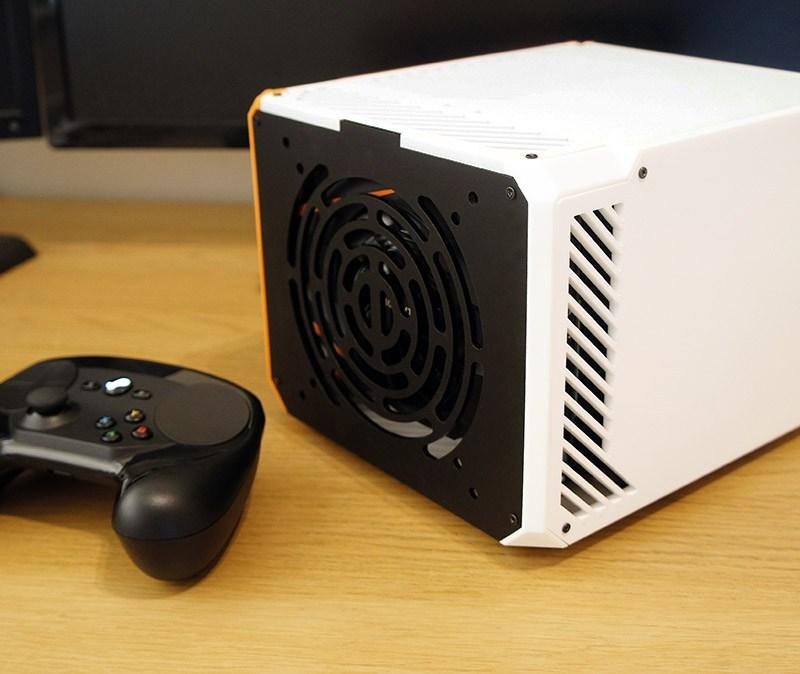 LZ7 v2 White Radial Vent GPU SIde Panel