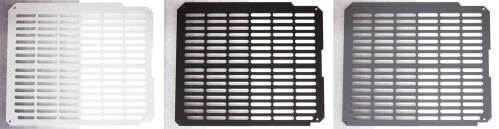 LZ7 Top XL-Vent Panels Black White and Grey