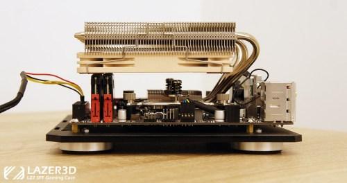 Noctua NH-L12S Mini-ITX motherboard RAM clearance