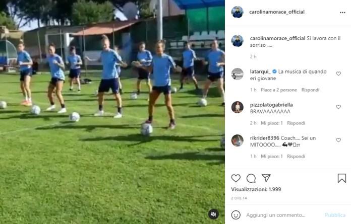 lazionews-lazio-morace-instagram-video