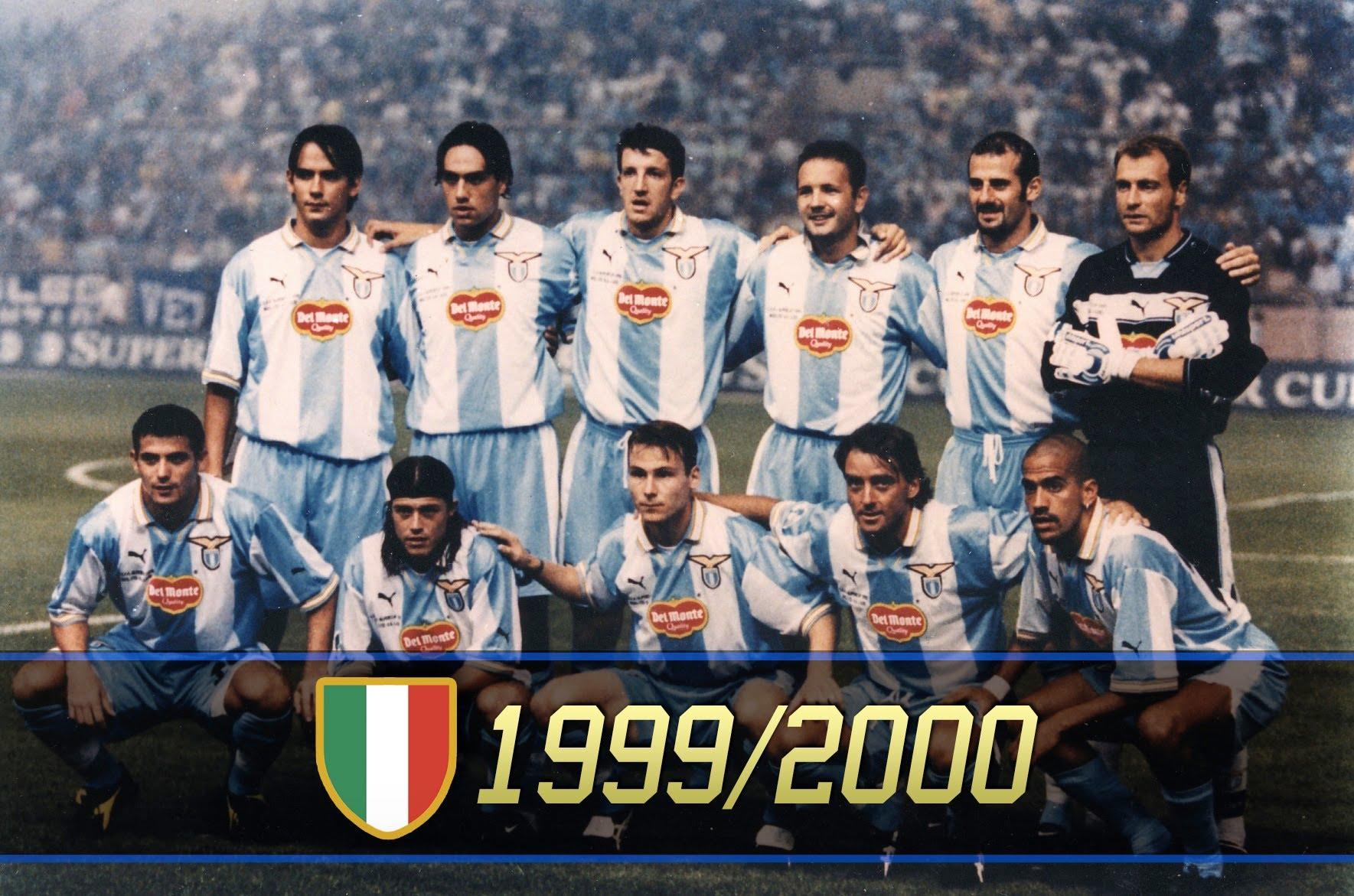 Afbeeldingsresultaat voor lazio scudetto 2000