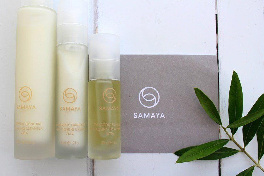 Samaya natural skincare products
