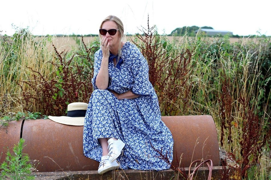 I Sewed A Wilder Gown by Friday Pattern Company A Review by lazy daisy jones