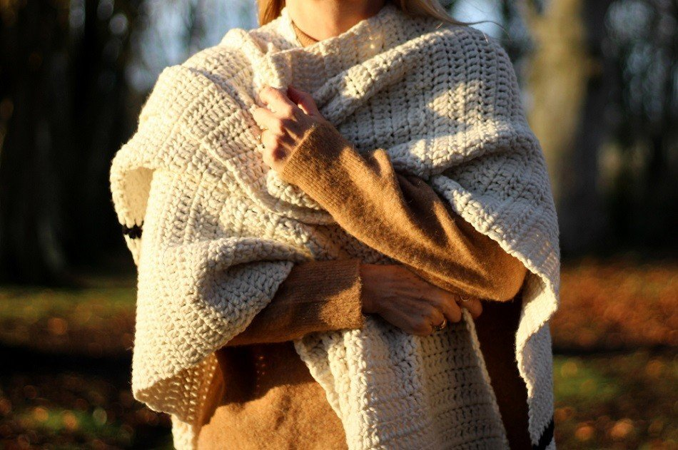Crochet Cape or a Wrap? Westbound Poncho by Two Of Wands