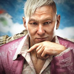 We all wore Pagan Min wigs at the Far Cry 4 launch event