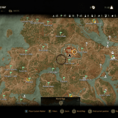 The Witcher 3: Wild Hunt map revealed