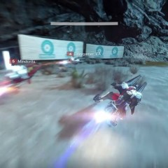 Watch me crash and burn in Destiny's Sparrow Racing League
