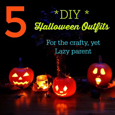 5 Easy-to-Make Halloween Outfits- for the crafty, yet lazy parent.