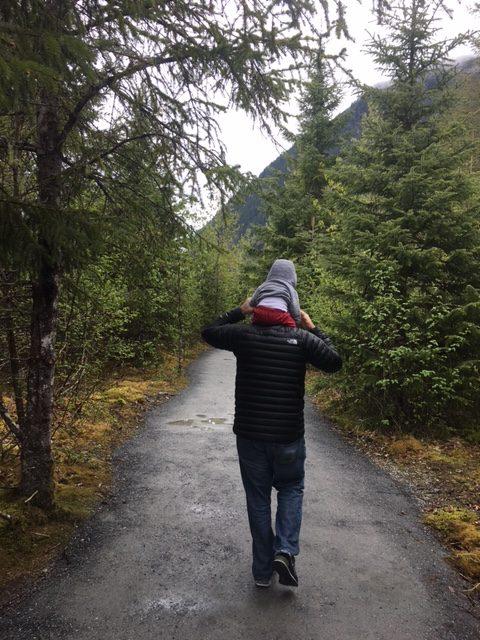 Juneau Alaska with a baby