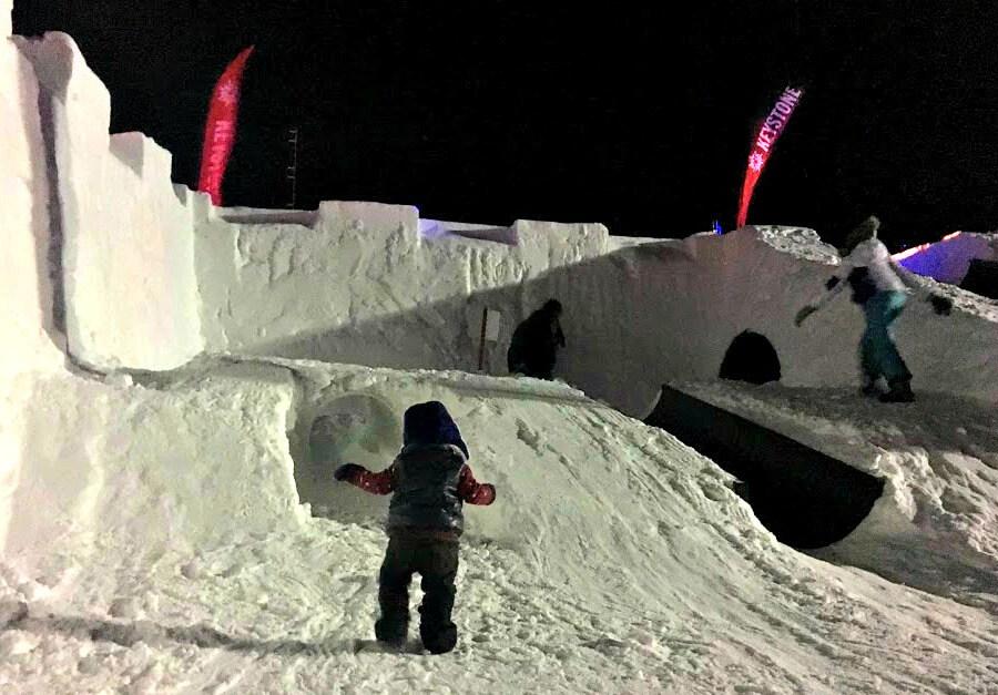 Kidtopia Snow Fort Keystone