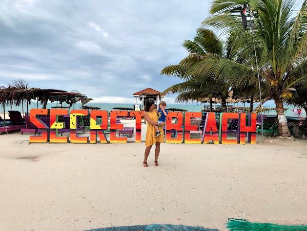 Secret Beach, Ambergris Caye