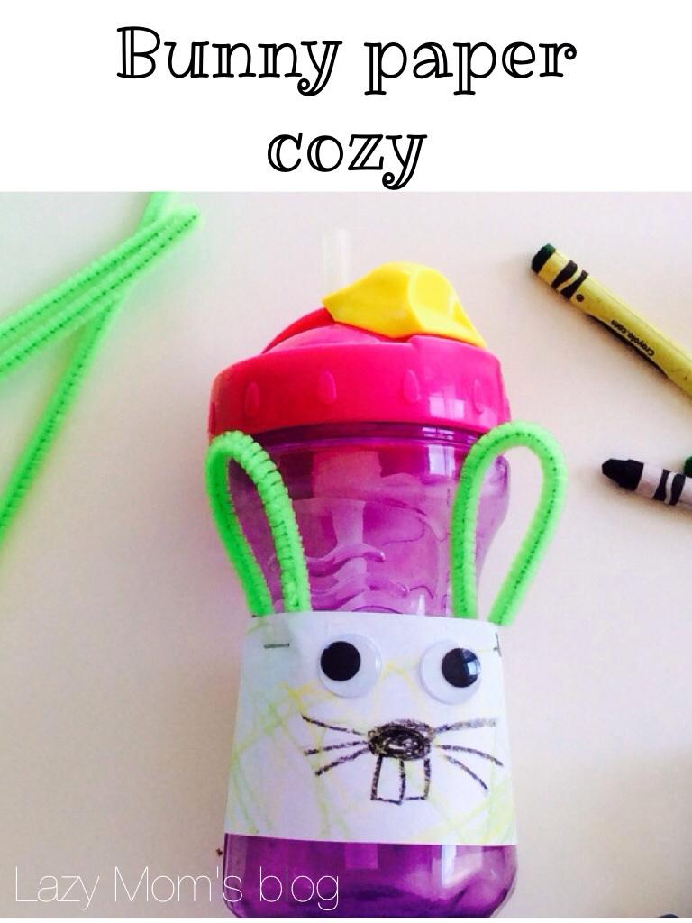 Bunny paper cozy