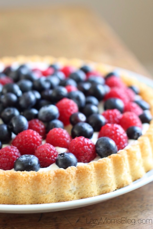 No bake summer tart