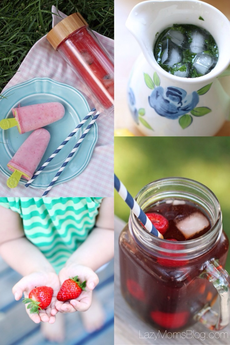 Perfect summer tips : drinks to keep you hydrated and your kids happy