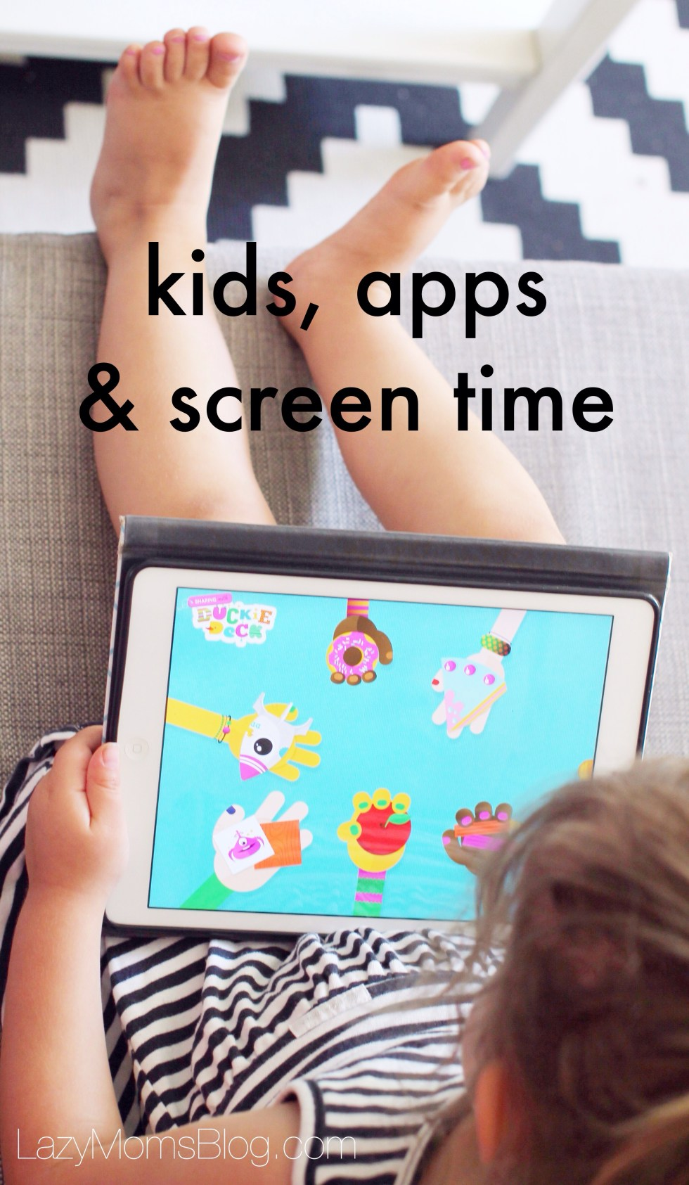 Kids , apps & screen time tips