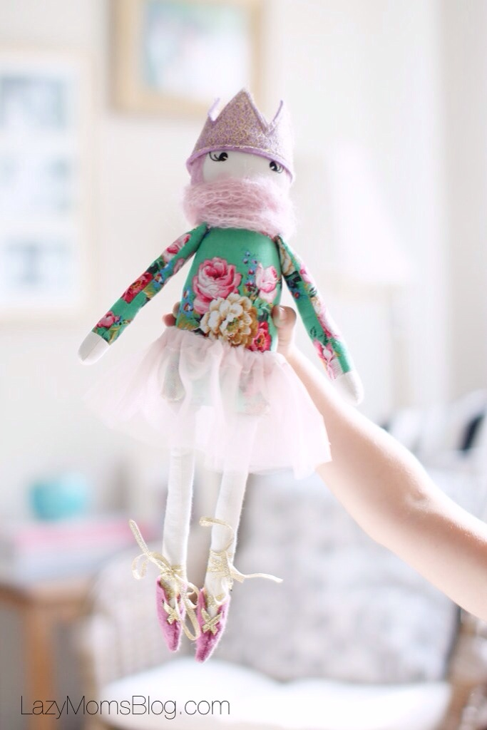 The prettiest hand made doll on etsy
