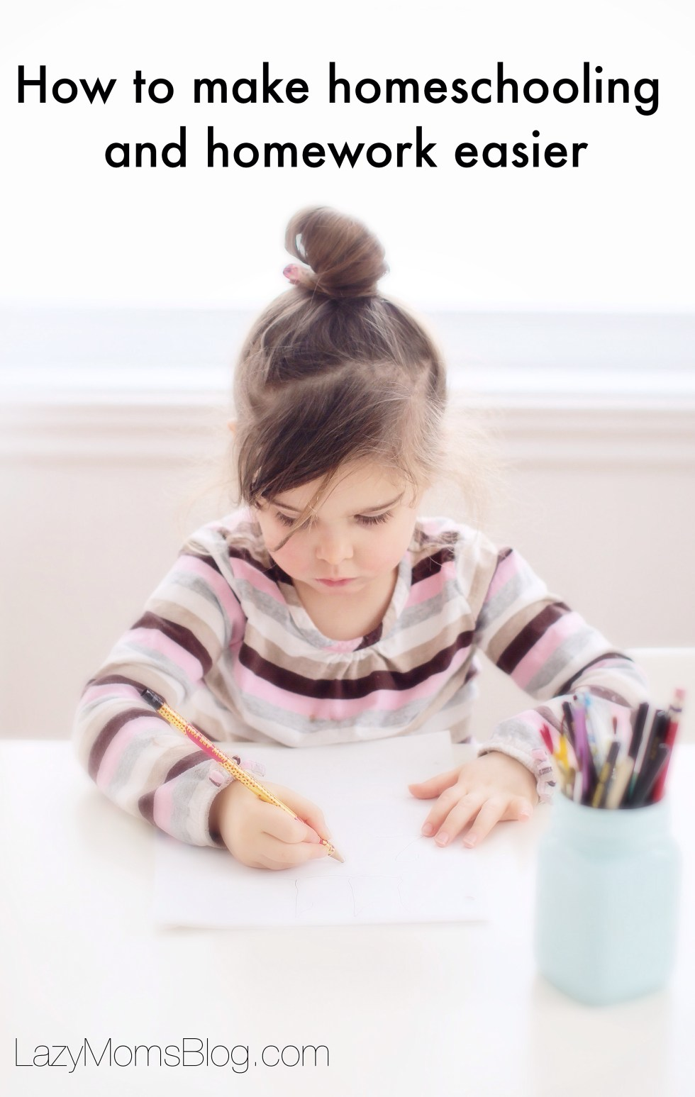 How to make homeschooling and homework easier, less stressful land more structured