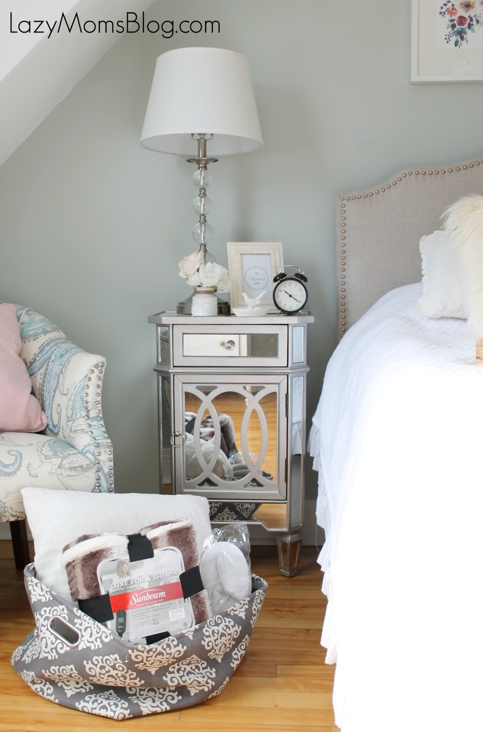 how to transform your bedroom for guests