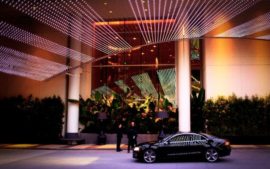 w hotel hollywood entrance