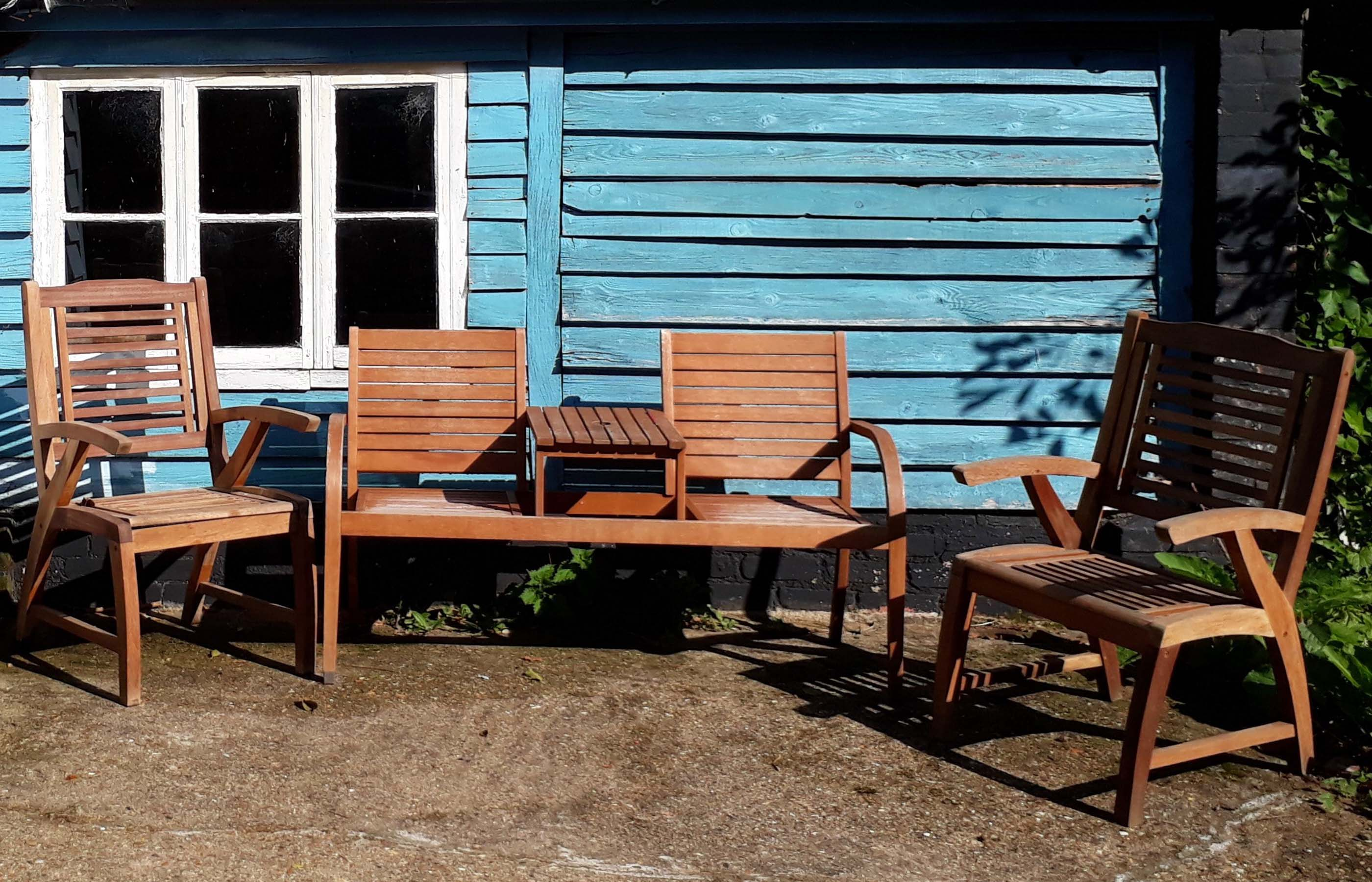 wooden garden furniture for the uk
