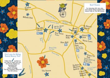 Bodmin Riding & Heritage Day map