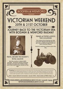 Victorian Weekend poster