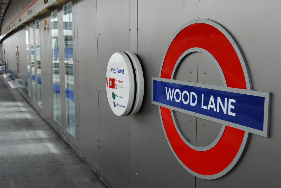 Wood Lane LU Station Roundal